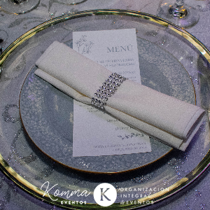 Detalles para la mesa de invitados